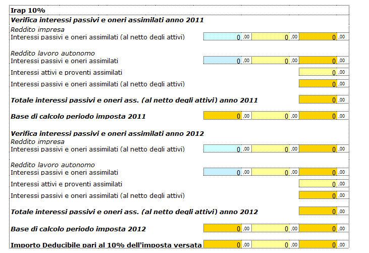 Persone fisiche quadro re redditi di lavoro autonomo - Calcola imposta di registro ...