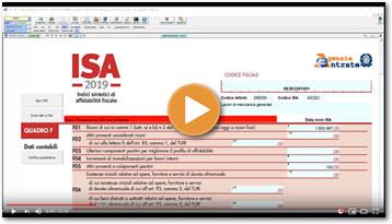 Video - ISA 2019 - Indici sintetici di affidabilità fiscale