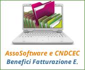 AssoSoftware e CNDCEC: benefici della fatturazione elettronica