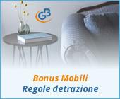 Bonus Mobili 2019: regole detrazione