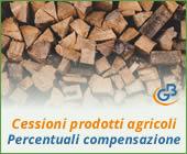 Cessioni prodotti agricoli: nuove percentuali compensazione 2019