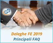 Deleghe Fatturazione Elettronica 2019: principali FAQ