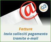 Fatture: invio solleciti di pagamento tramite e-mail